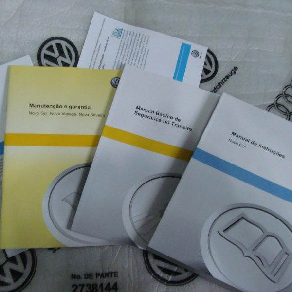 kit completo manual do propriet rio gol g6 the volks shop rh thevolksshop com br